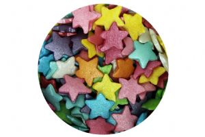 Sugar Large Stars: Rainbow Mix